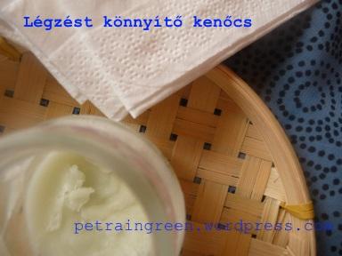 Légzés könnyítő kenőcs házilag, Fotó: Kis Petra, Petra in Green