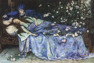 Kép forrása: Wikimedia Common, Henry_Meynell_Rheam_-_Sleeping_Beauty