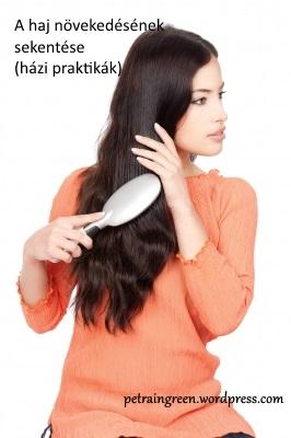 A ahj növekedésének serkentése, Forrás:freedigitalphotos.net, Woman Combing Her Hair by marin