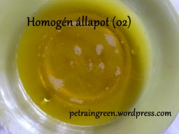 Homogén állapot, Fotó: Kis Petra , Petra in Green