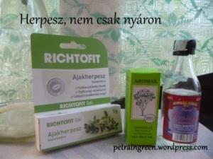 Herpesz elleni kencék, Fotó: Kis Petra, Petra in Green