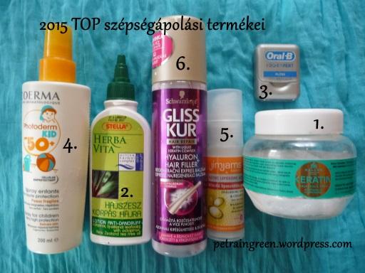 2015 TOP szépségápolási termékei
