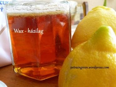 wax házilag